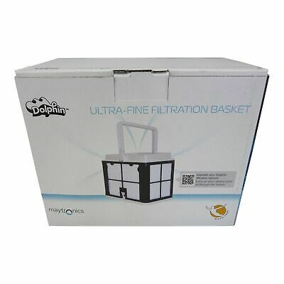 Maytronics Dolphin Filter Basket Ultra Fine Upgrade - Pool Robot E10,E20,S50