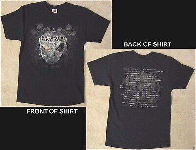 KILLSWITCH ENGAGE As Daylight Dies Size Small Black T-Shirt