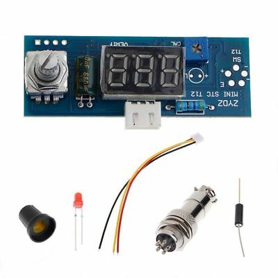 Digital Temperature Soldering Iron Station Controller Kits For HAKKO T12 Handle