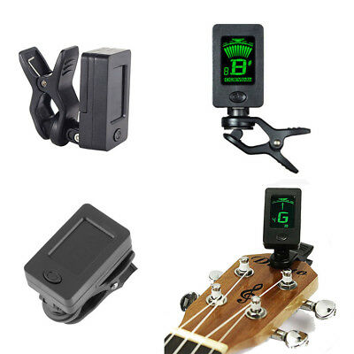 High Quality Portable Clip On Digital Tuner For Acoustic Electric Guitar Bass