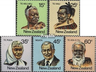 New Zealand 810-814 (complete issue) unmounted mint / never hinged 1980 maoris