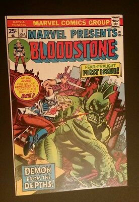Marvel Presents 1 Origin And 1St App. Of Ulysses Bloodstone Demon From The Depth