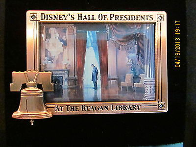 Disney D23 Archives Hall of Presidents Lincoln pin