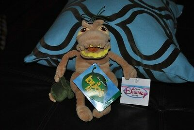 Disney Pixar A Bug's Life P.T. Flea Plush Doll NWT 9""