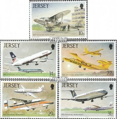 united kingdom-Jersey 400-404 (complete issue) unmounted mint / never hinged 198