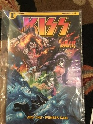Bam Box Exclusive Kiss Vol. #1 Comic Book signed by Cover Artist John Lucas, NEW