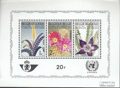 Belgium block32 (complete issue) unmounted mint / never hinged 1965 ghent flower