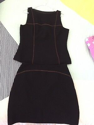 Cue Size 10 Top And Skirt Office Corporate Wear