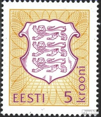 Estonia 210 (complete issue) unmounted mint / never hinged 1993 State Emblem