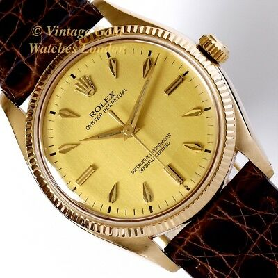 Rolex Oyster Perpetual, 18K, 1955 - Beautiful And Immaculate!