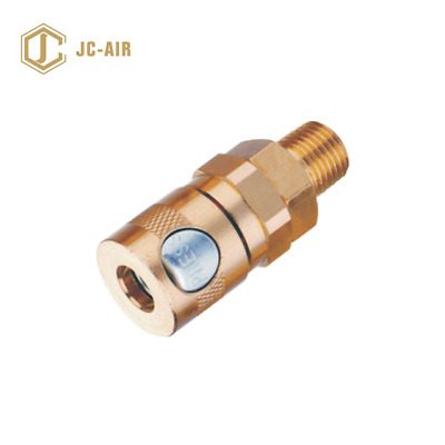 BRASS AIR PNEUMATIC FITTING QUICK COUPLING AIR COPY of JAMEC $7.95 P/U