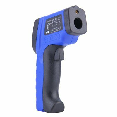 12:1 LCD Non-Contact Infrared Thermometer Pyrometer Laser-50~420Deg.XH