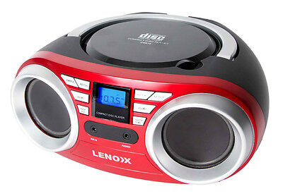 Lenoxx Portable CD Player - CD813R