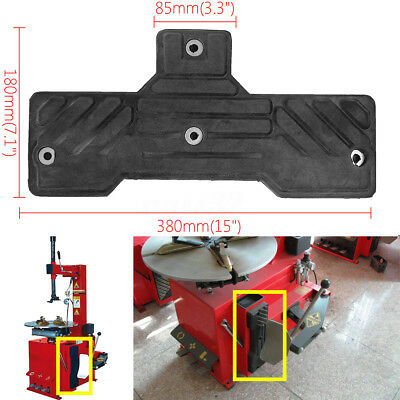 Black T-shaped Tire Changer Accessories Rubber Pad Protect Pad for Fire Eagle