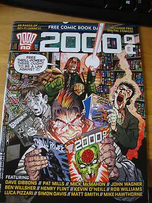 2000 AD Free Comic Book Day FCBD 2015. Charity auction