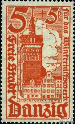 Gdansk 256 used 1935 Winter Relief