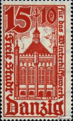 Gdansk 258 used 1935 Winter Relief