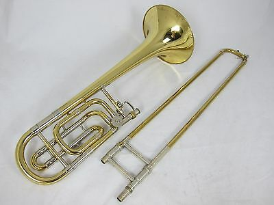 Bach 50B Bass Trombone - Lacquer (used instrument) Single Plug