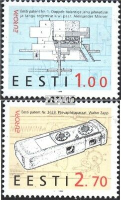 Estonia 233-234 (complete issue) unmounted mint / never hinged 1994 Discoveries