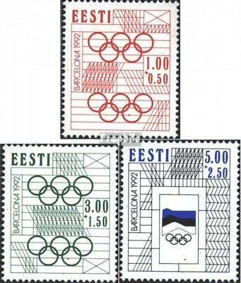 Estonia 180-182 (complete issue) unmounted mint / never hinged 1992 Summer
