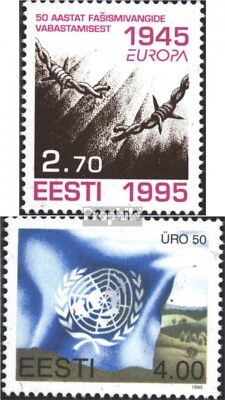 Estonia 254,255 (complete issue) unmounted mint / never hinged 1995 special stam