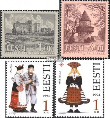 Estonia 223,224,235-236 (complete issue) unmounted mint / never hinged 1994 spec