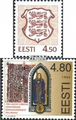 Estonia 323,326 (complete issue) unmounted mint / never hinged 1998 special stam
