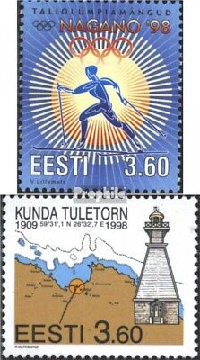 Estonia 316,322 (complete issue) unmounted mint / never hinged 1998 special stam