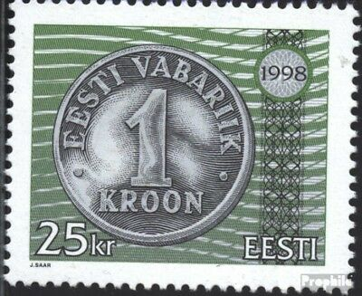 Estonia 328 (complete issue) unmounted mint / never hinged 1998 Currency Reform