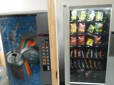 two vending machine in one site