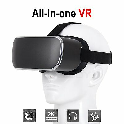 New ALL-in-One 3D VR Headset Glasses Virtual Reality Wifi 3GB+16GB Bluetooth 4.0