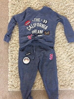girls tracksuit age 4-5