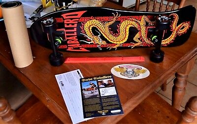 POWELL PERALTA Skateboard CAB Complete* limited ed.w/grip+rails *New