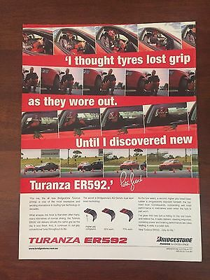 Peter Brock Bridgestone Advertisement-Er592 Turanza Tyre-Hdt-Holden-Commodore