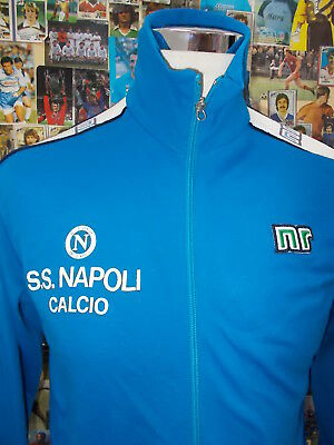 giacca jacket suit sweat tracking calcio shirt maillot trikot NAPOLI TG 44