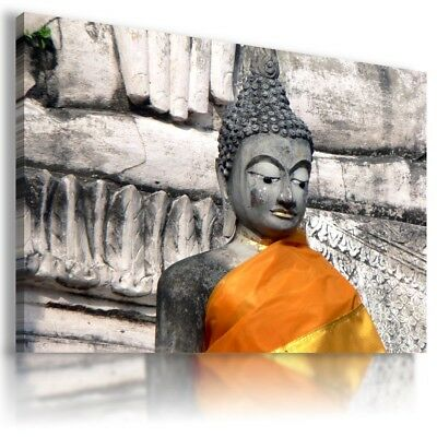 Thailand TREES GOLDEN Gautama Buddha Canvas Wall Art Picture  BB13 MATAGA .