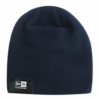 New Era Mens Womens Unisex Gathered Slouch Beanie Hat Navy 10830526 UW