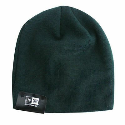 New Era Mens Womens Unisex Gathered Slouch Beanie Green ATHOAK125 UW