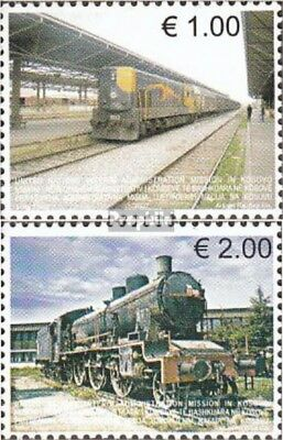 kosovo (UN-Administration) 90-91 fine used / cancelled 2007 Railways