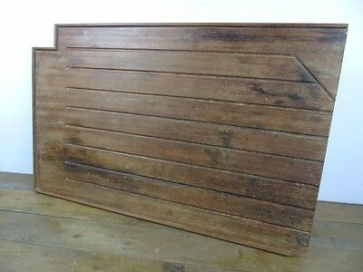 Vintage Hardwood Belfast Draining Board science architectural Old recliamed