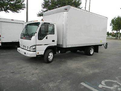 2007 Isuzu Npr H.d. ~16Ft Box Truck ~ Lift Gate ~ Low Miles ~ Diesel ~ Auto