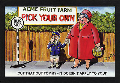Postcard BAMFORTH COMIC No 2049 MINT ORIGINAL