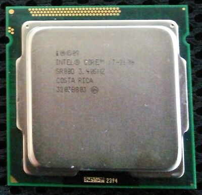 Processore Intel i7 2600 CPU x86 64bit come nuovo