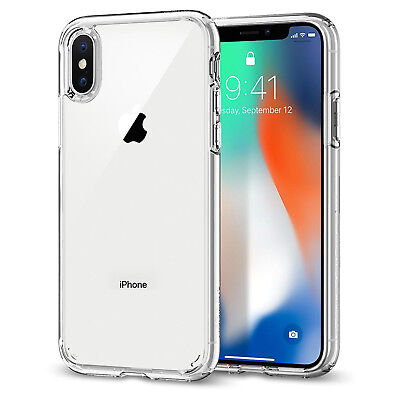 COVER CUSTODIA per PER APPLE  IPHONE X XS MAX XR TRASPARENTE MORBIDA SOTTILE