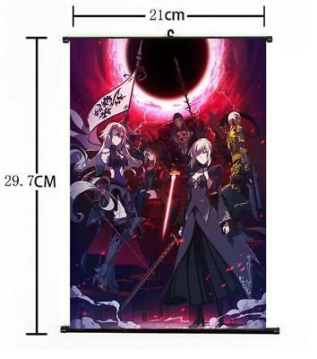 """Hot Japan Anime Fate Apocrypha Grand Order Poster Wall Scroll Home Decor 8""""×12"""""""