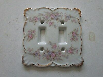 Lefton China Double Light Switch Cover 6839