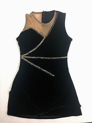 Algy Baton Velvet Twirling Costume Uniform Dress Adult Large Dance Halloween