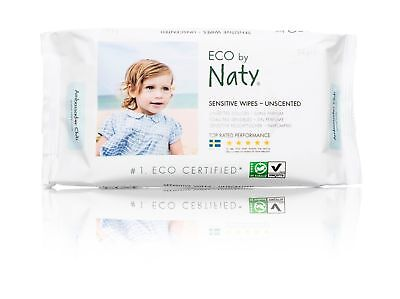 Naty by Nature Babycare Eco-Sensitive Fragrance-Free Wipes 672-Count Unscented