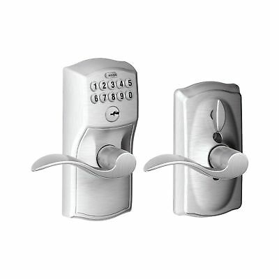 Schlage FE595 CAM 626 ACC Camelot Keypad Entry with Flex-Lock and Accent Leve...