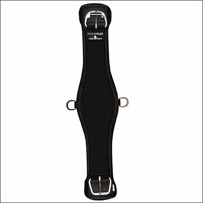 28 Inch Black Classic Equine Featherflex Roper Cinch Girth Horse